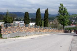 Oprava oplotenia Mestského cintorína